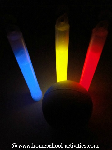 Cool Science Experiments For Kids With Glow Sticks