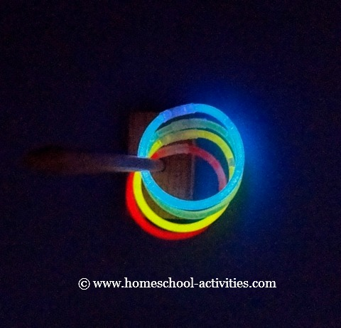 glow stick toss