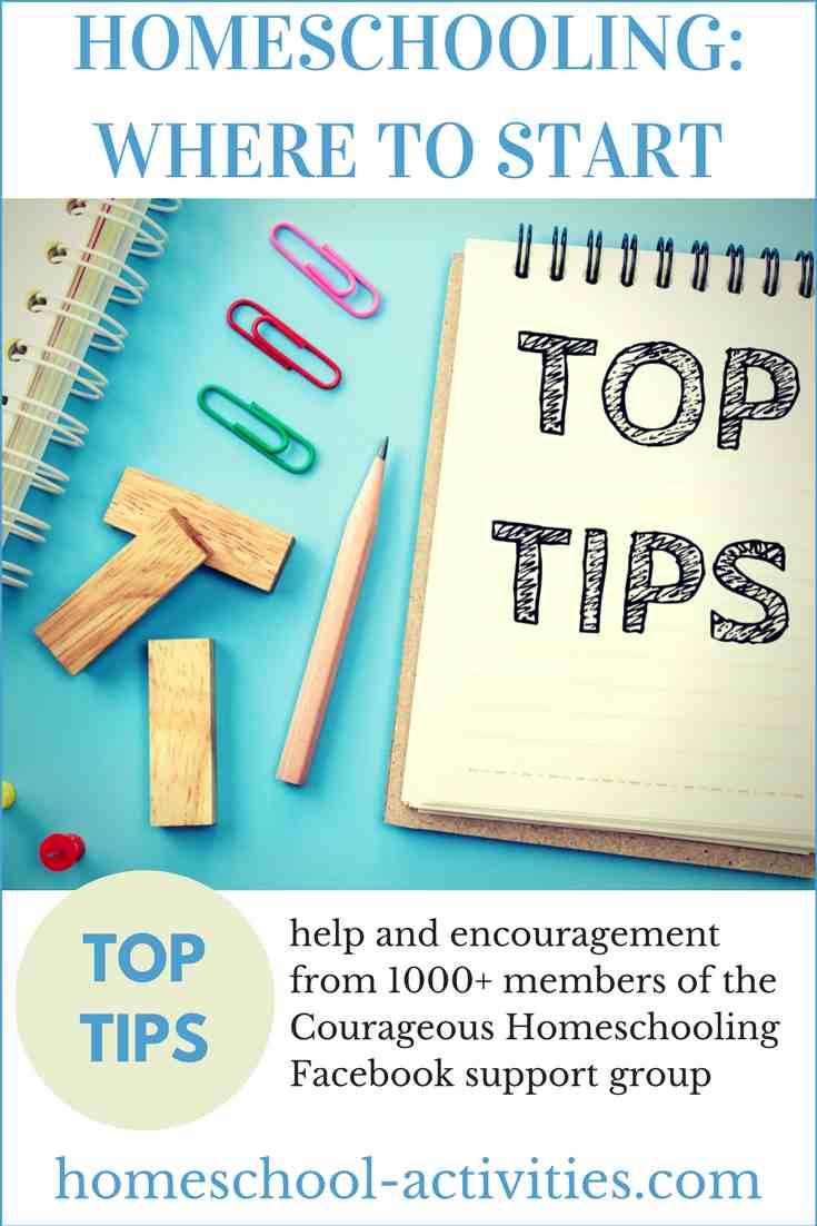 homeschooling top tips