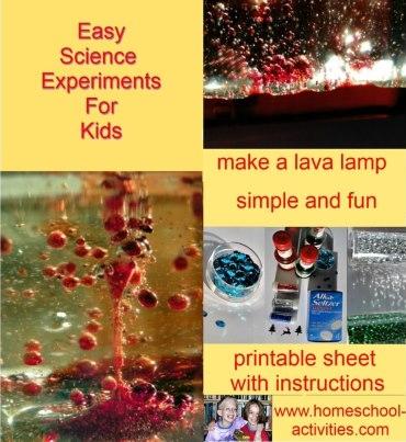 make a lava lamp