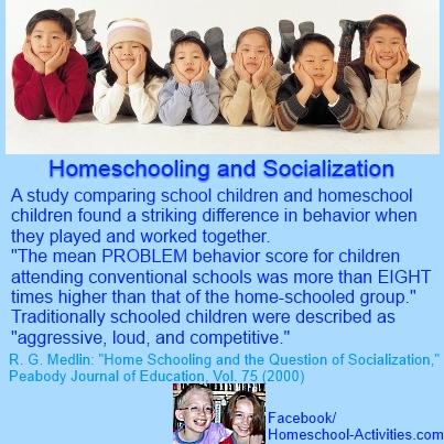 homeschooling and socialization study