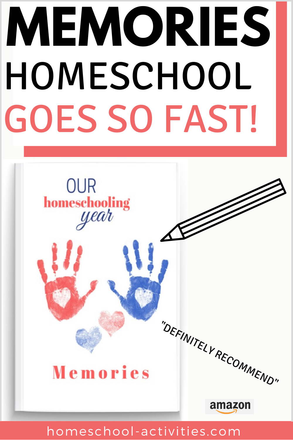 Homeschooling memory record book