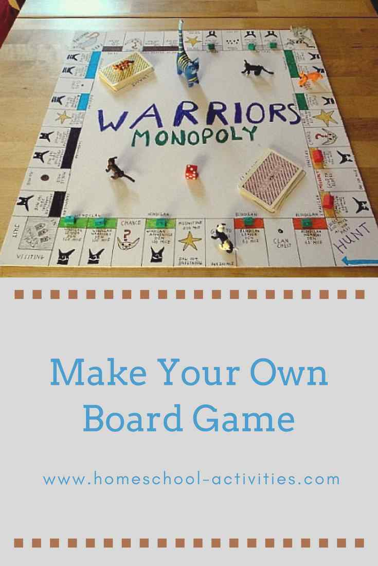Make your own board game for free
