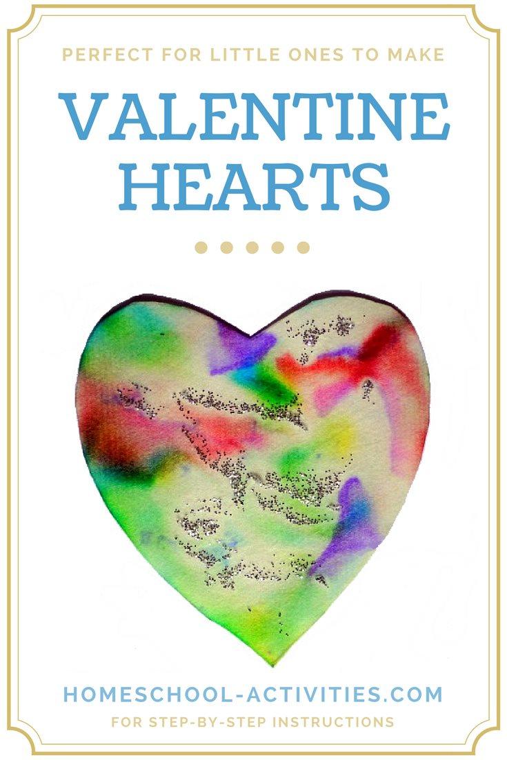 kids Valentine hearts