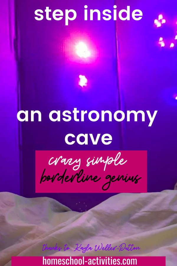 Learn constellations with an astronomy cave