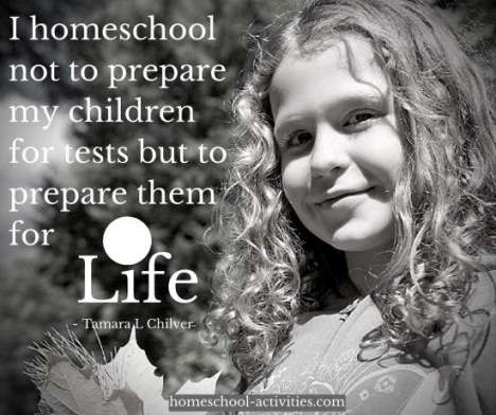 Tamara L Chilvers quote on preparing children for life