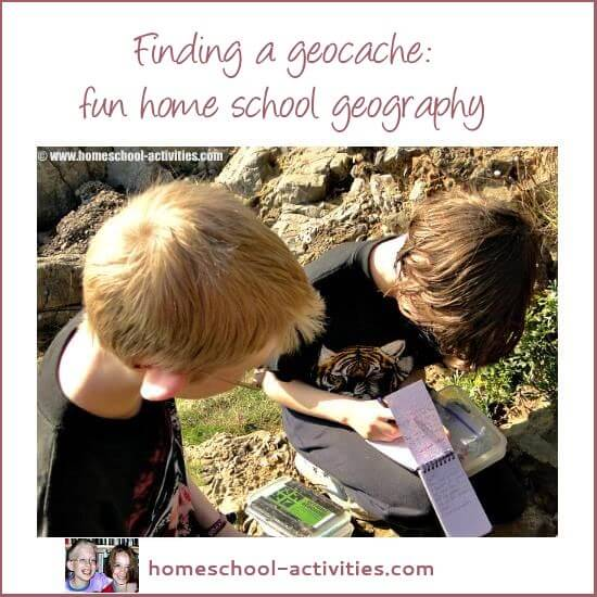 geocaching finding a cash