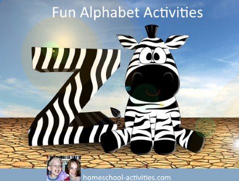 fun alphabet activities