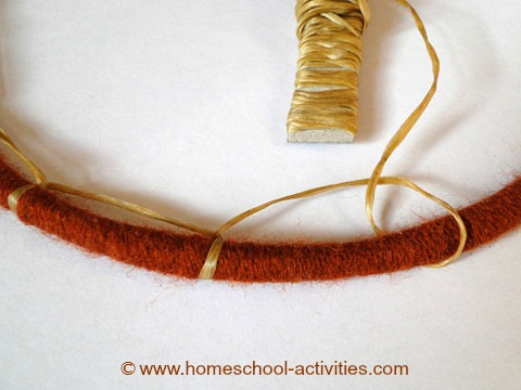 how to make a dream catcher stage three