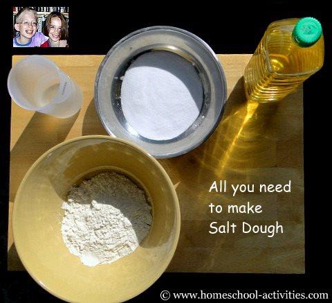 salt dough recipe ingredients