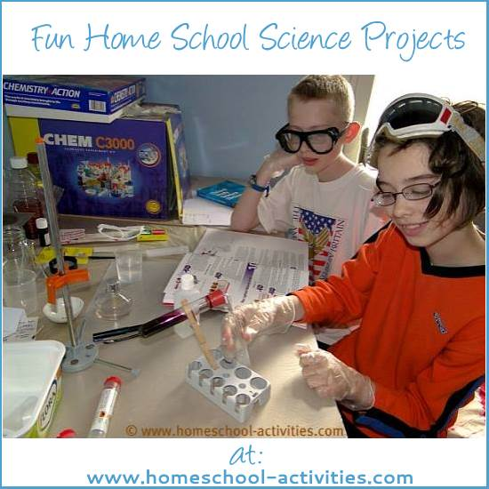 home school science projects