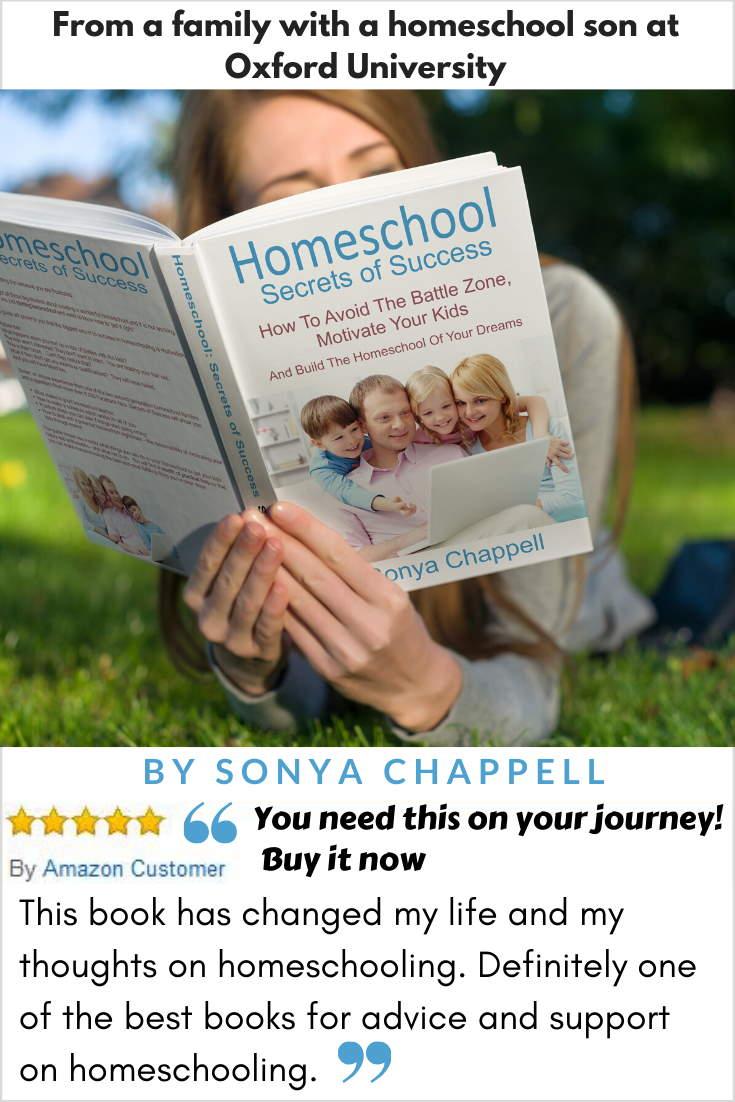 Homeschool Secrets of Success Amazon 5 star review