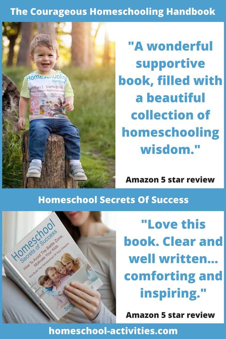 The Courageous Homeschooling Handbook and Homeschool Secrets of Success