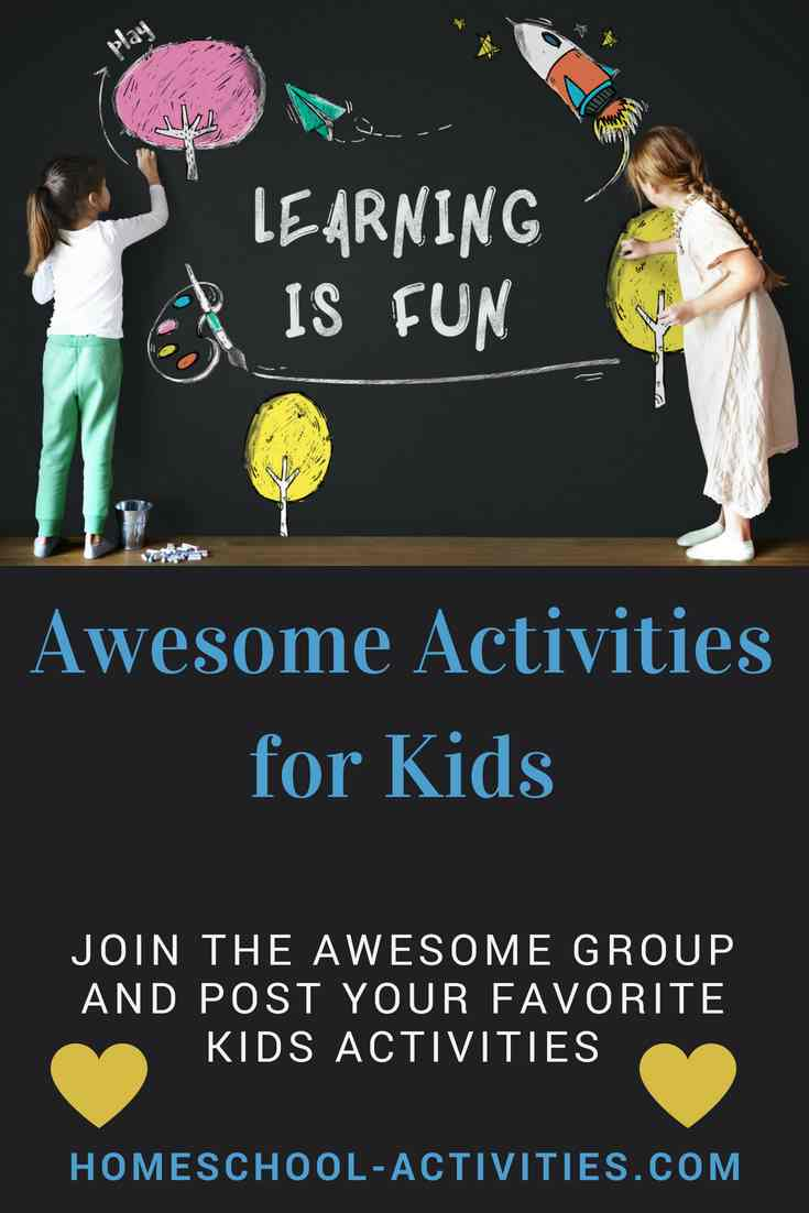 Awesome activities for kids on Pinterest