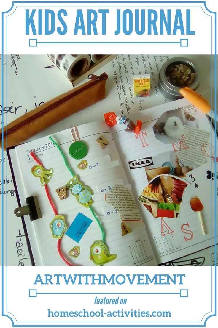 kids art journal