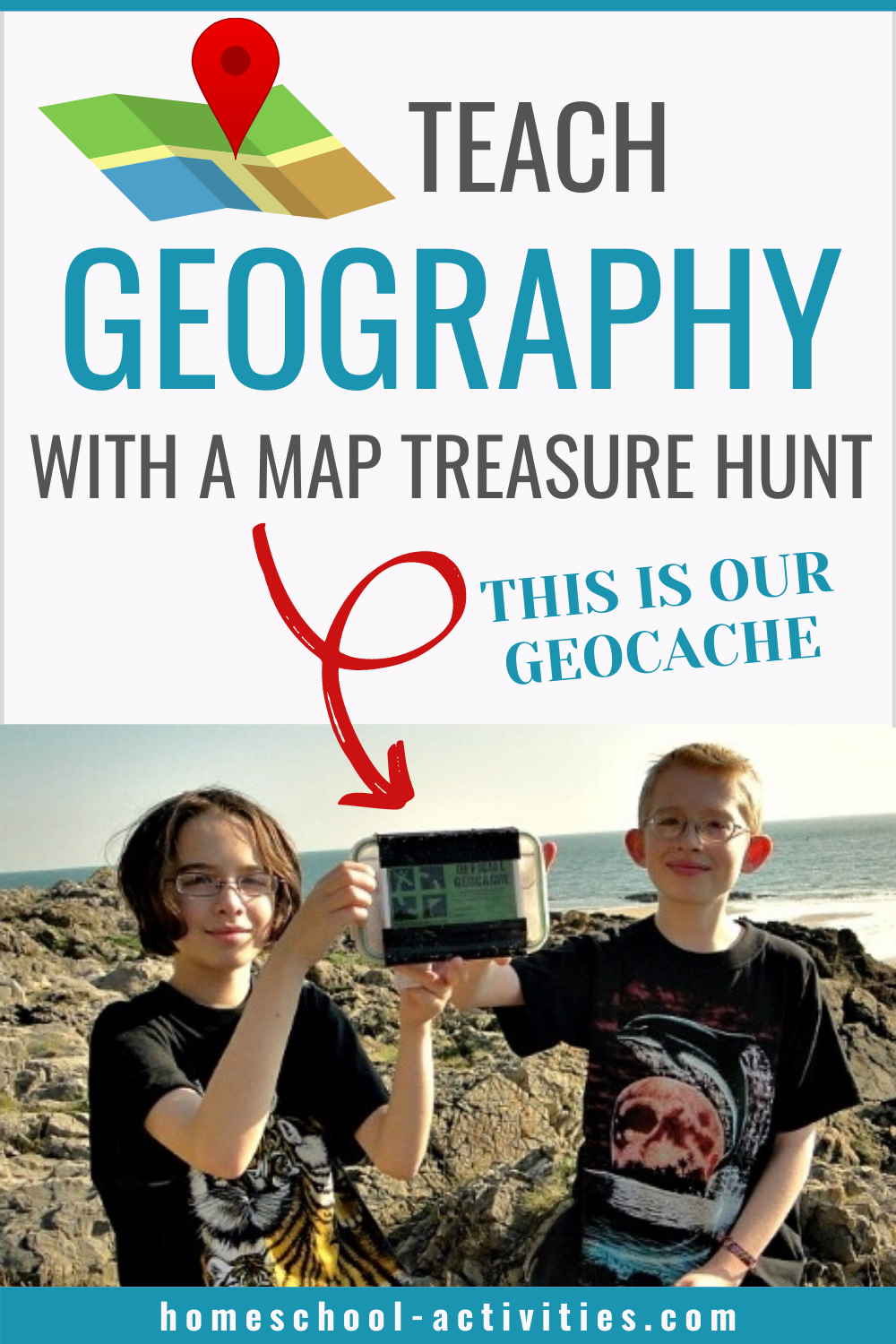 Teaching geography with geocaching