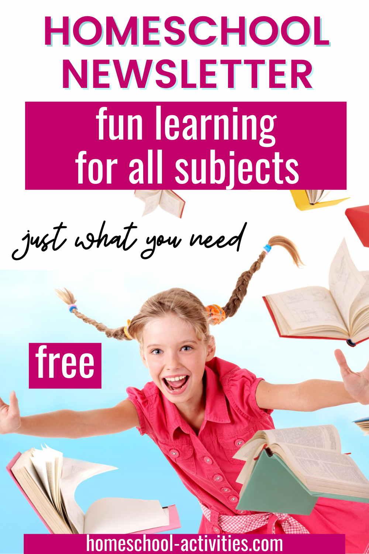 Homeschooling newsletter