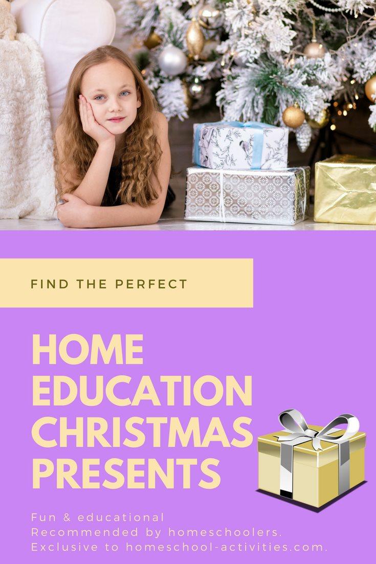 home education Christmas presents