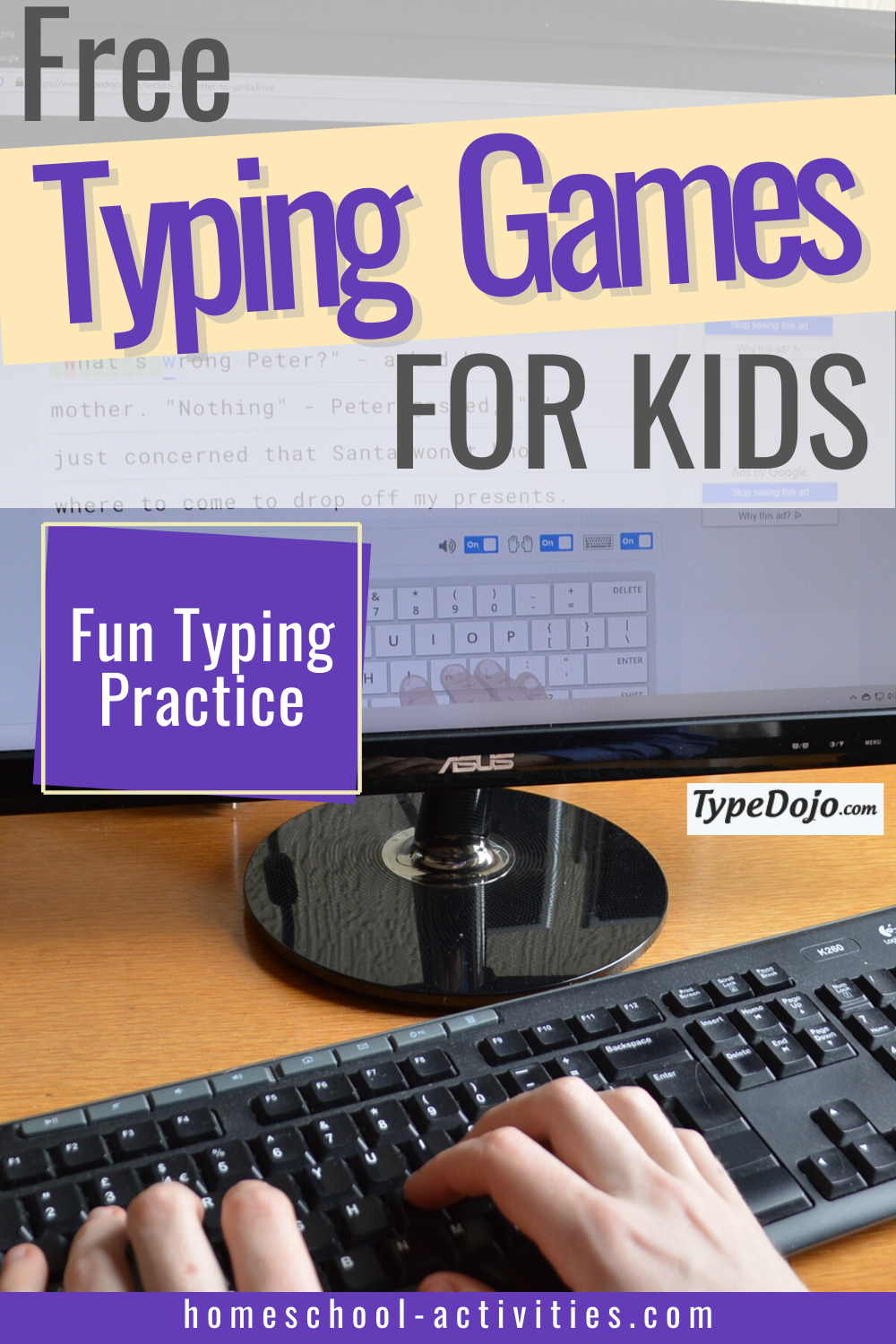Typing lessons for kids