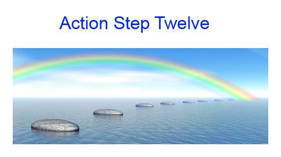 action step twelve