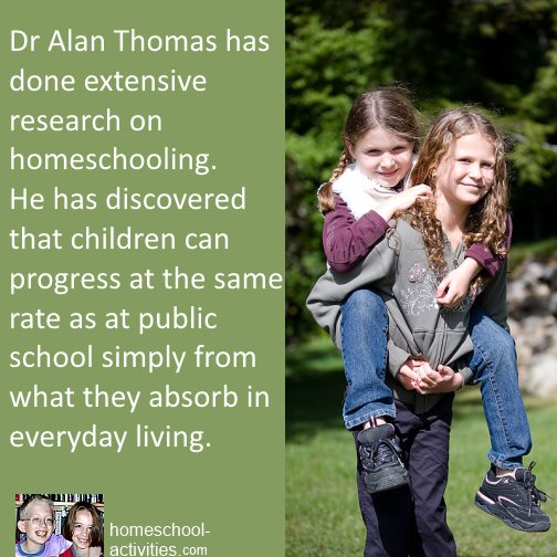 Dr Alan Thomas home education research