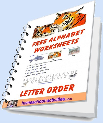 free alphabetical order worksheets