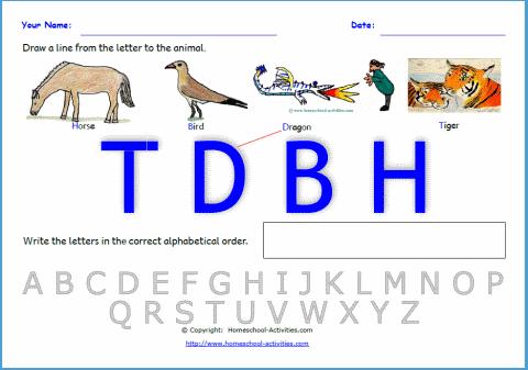 alphabetical order worksheets