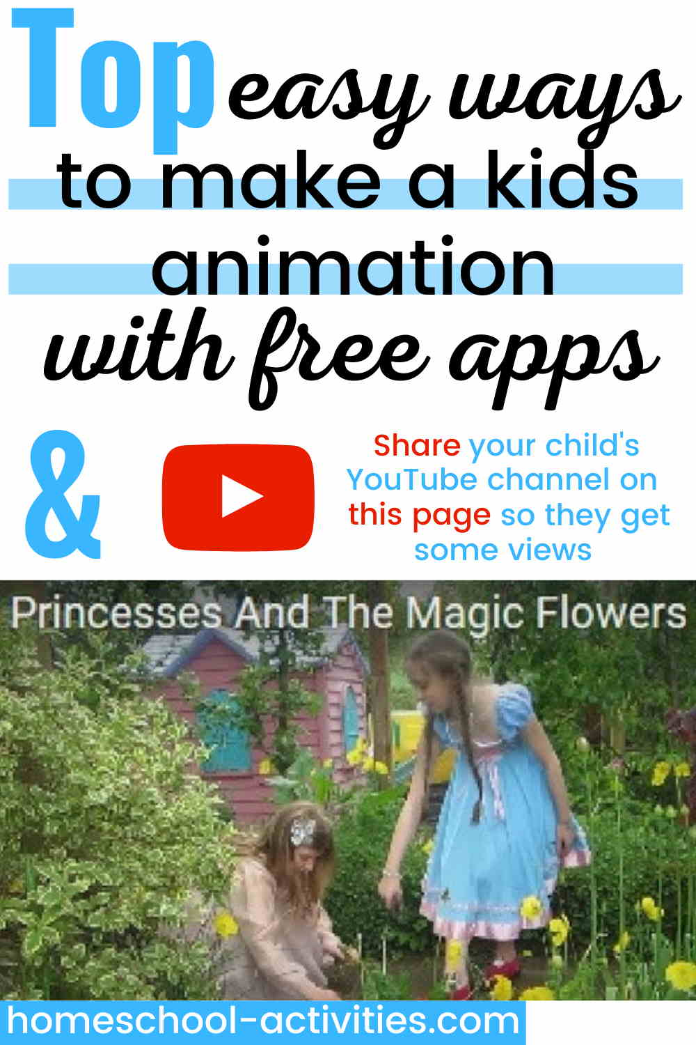 Make your own animation for kids