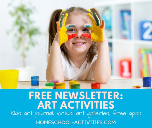 Fun art activities newsletter
