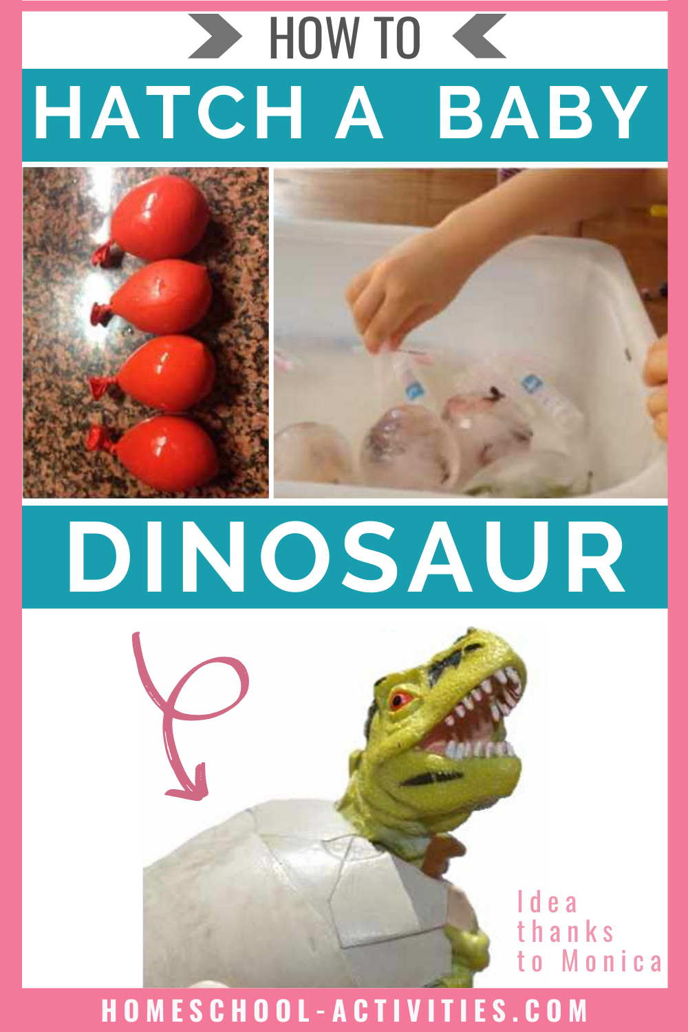 How to hatch a baby dinosaur