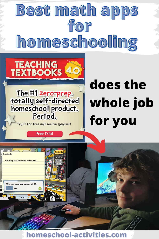 Teaching Texbooks math curriculum