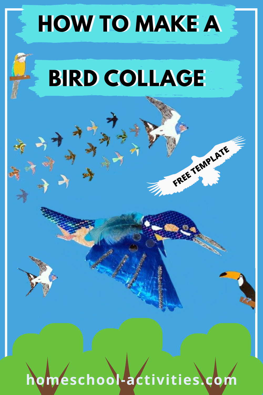 flying bird template printable.html