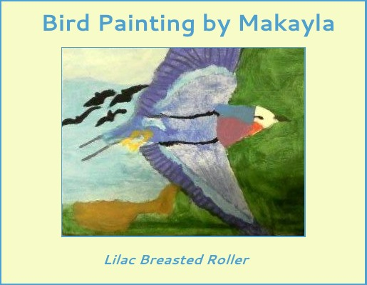 bird painting by Makayla