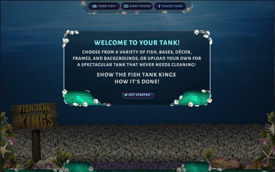build a virtual aquarium