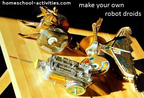 make your own robot droids
