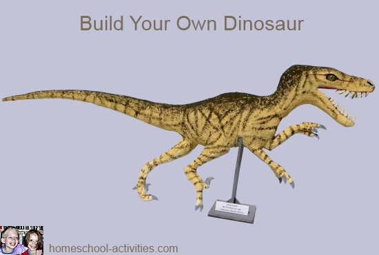 full-size Velociraptor model