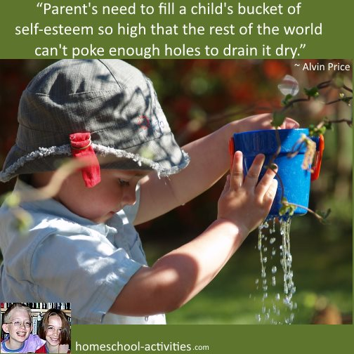 build your child's self-esteem