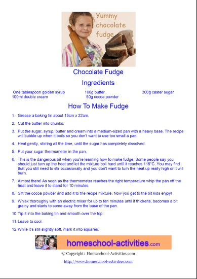 chocolate fudge recipe pdf