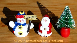 snow globe cake decorations