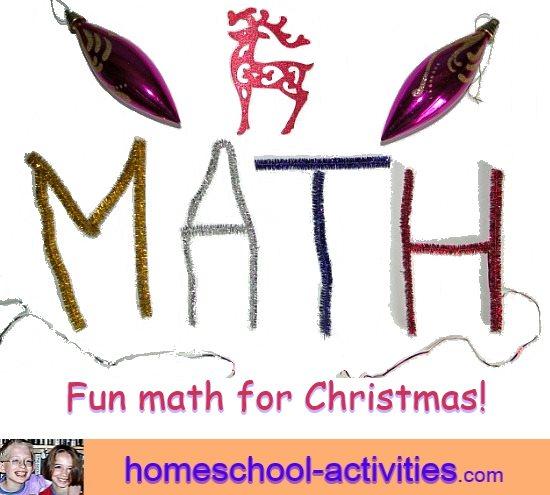 Fun Christmas math activities