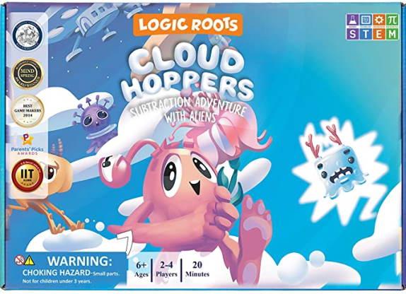 Cloud hoppers math game