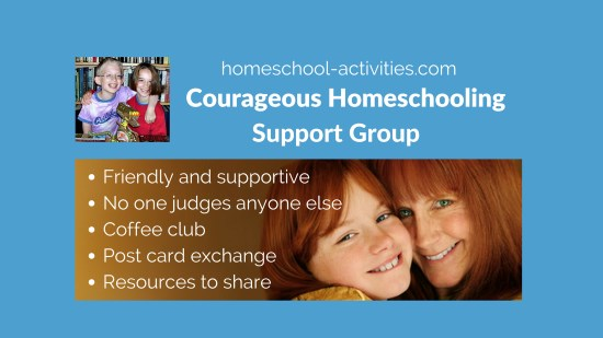 The Courageous Homeschooling Facebook support group