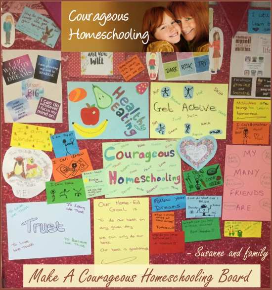 Courageous Homeschooling Board
