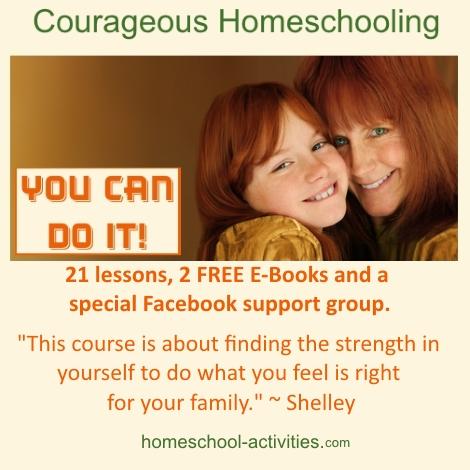 courageous homeschooling e-course