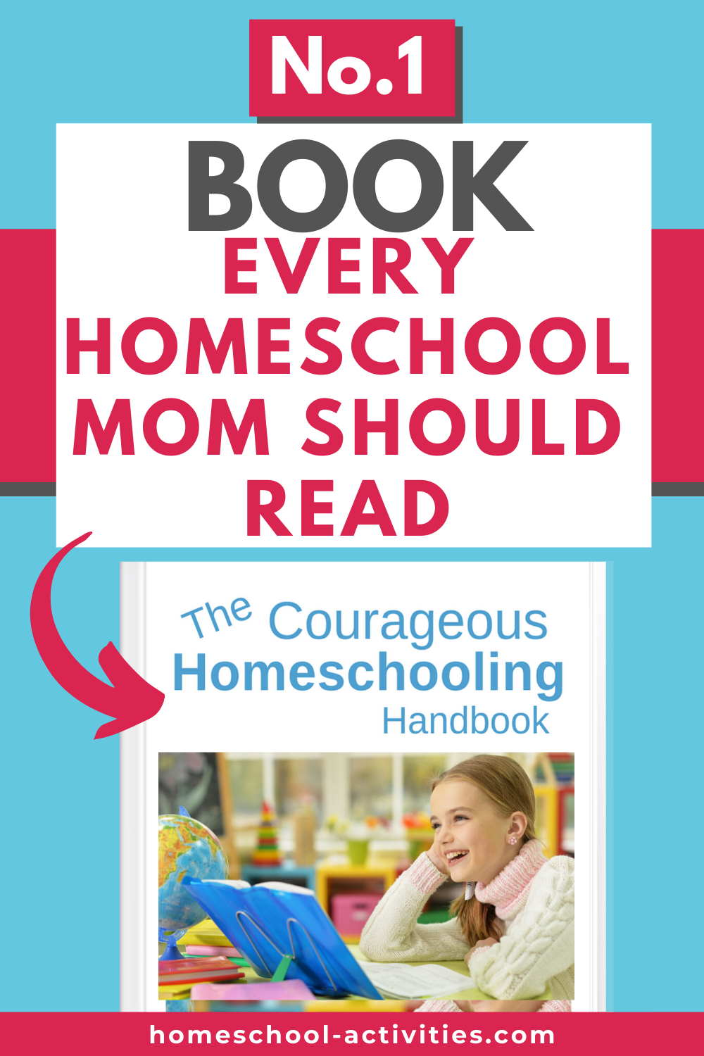 The Courageous Homeschooling Handbook on how to home school