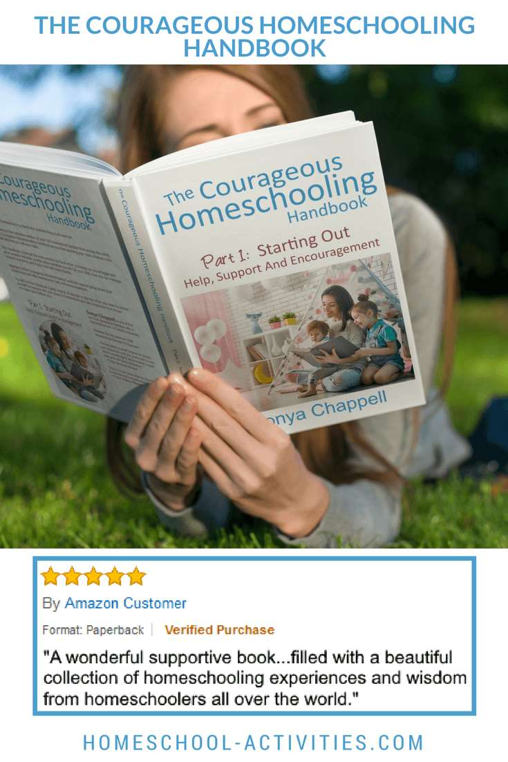 Courageous homeschooling handbook with Amazon review