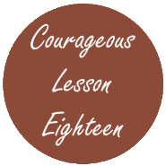 Courageous Homeschooling e-course lesson eighteen