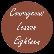 Courageous Homeschooling e-course lesson eighteen