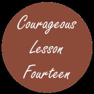Courageous Homeschooling e-course lesson fourteen