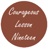 Courageous Homeschooling e-course lesson nineteen